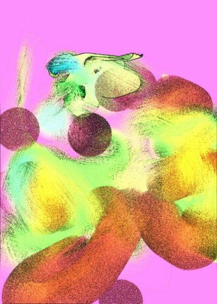 Устал абстракт - Геннадия Рыбалко