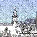Колокольня над крышами – 1