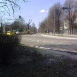 Перекресток в тихом районе Львова