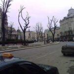 Современный центр Львова (срединная часть)